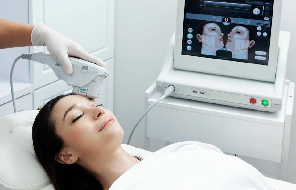 ultherapy, nonsurgical facelift, skin tightening