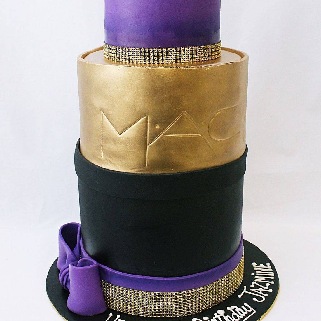 Giant MAC Lipstick Cake Carved Dimensional Cake Milwaukee