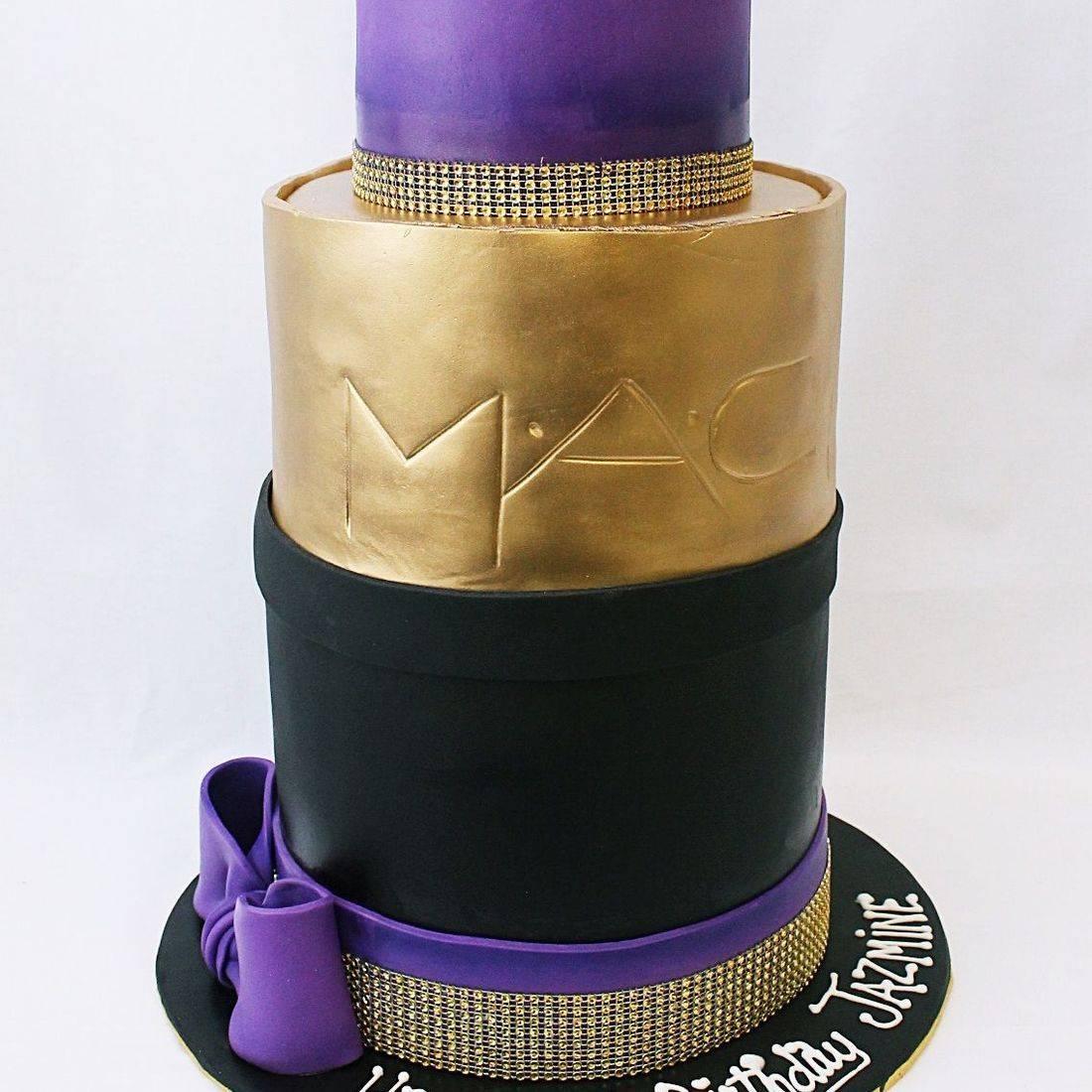 Giant MAC Lipstick Cake Carved Dimensional Cake Milwaukee