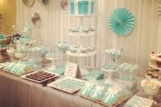 Tiffany Wedding Cookies