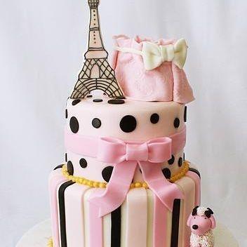 CustomParis Eiffel Tower Cake Milwaukee