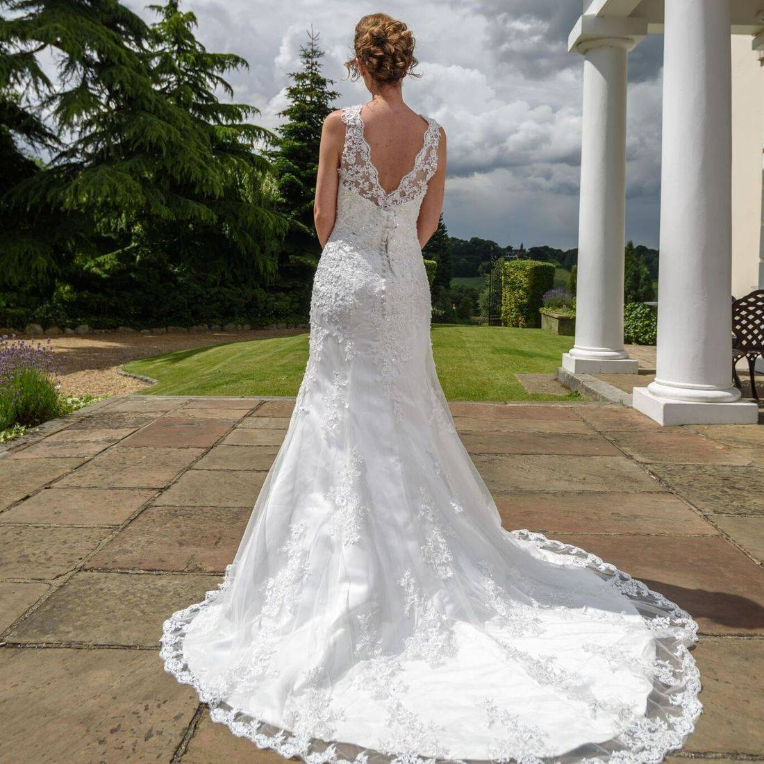 Mori Lee, Sophia Tolli, sincerity, Justin Alexander, fitted lace wedding dress, stunning wedding dress