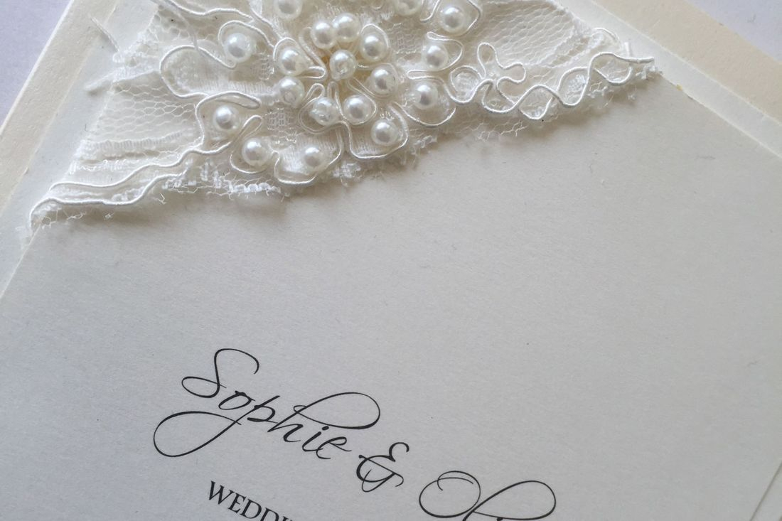 Wedding invitations, luxury wedding invitations, lace wedding invitations