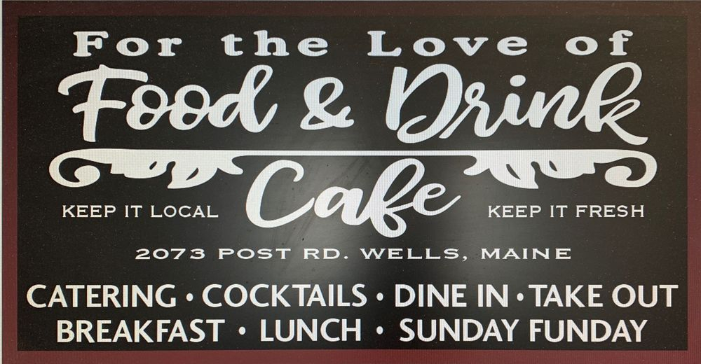 New Cafe Sign for 2073 Location