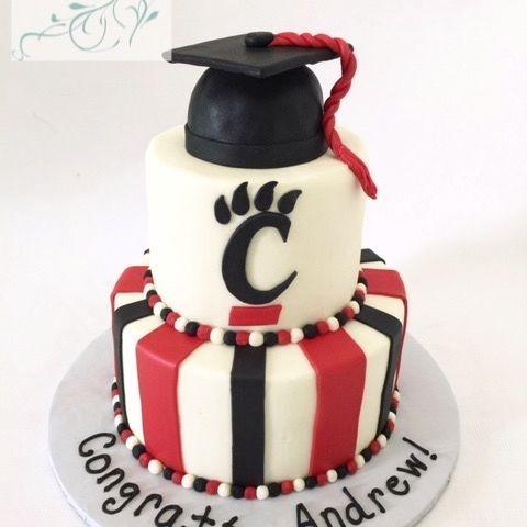 University of Cincinnati Graduation Cake