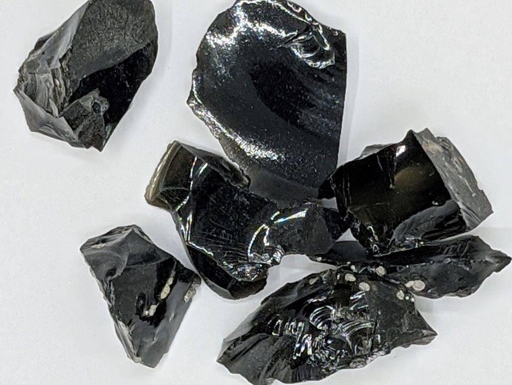 Raw Black Obsidian Wholesale