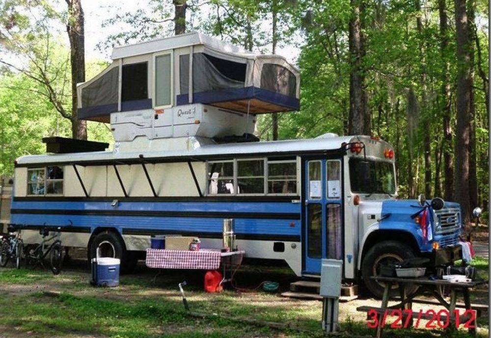 RV, RV Park, bus, popup, camper