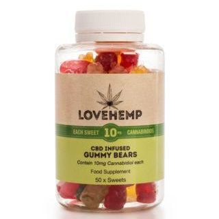 Love Hemp CBD Gummy Bears