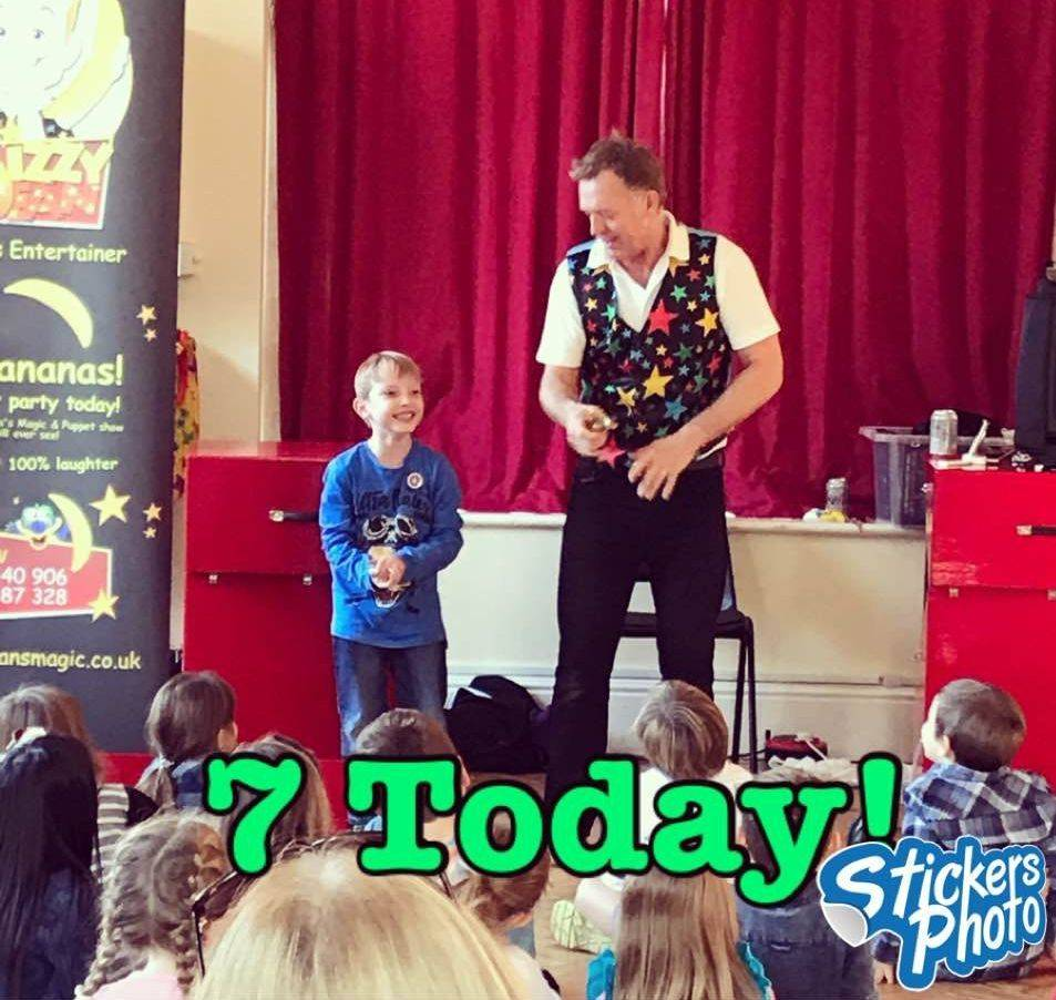 Magic Show at Clanfield Oxfordshire