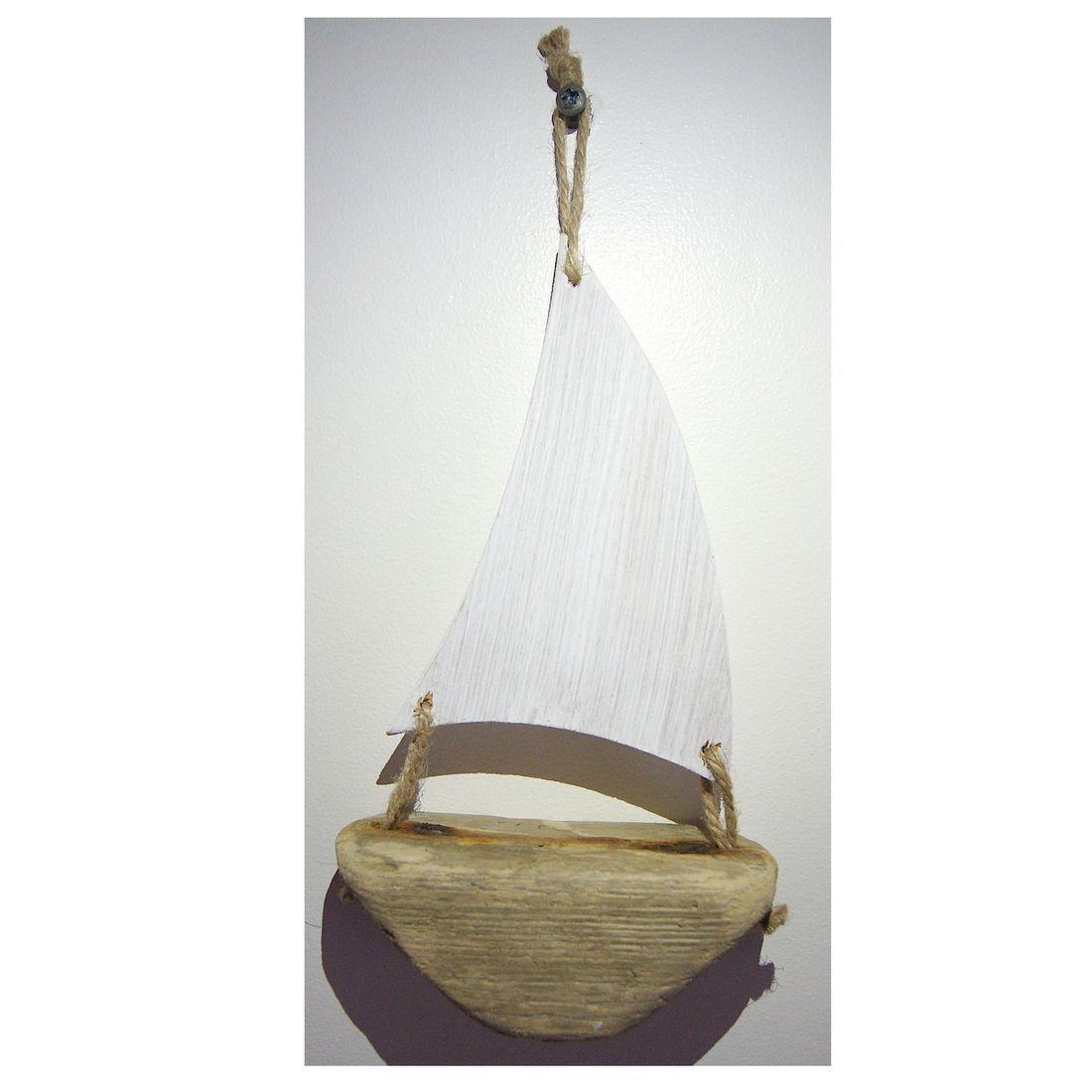 Driftwood boat 9