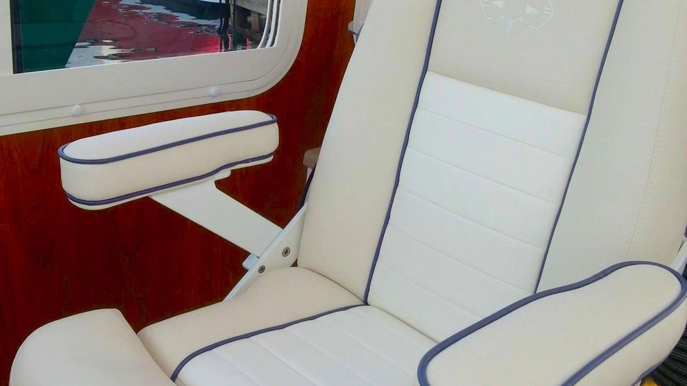 Stidd, yacht upholstery, Newport Yacht Interiors