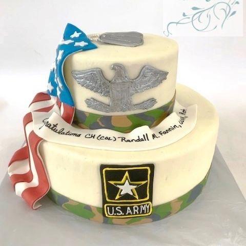 Army Military Cake