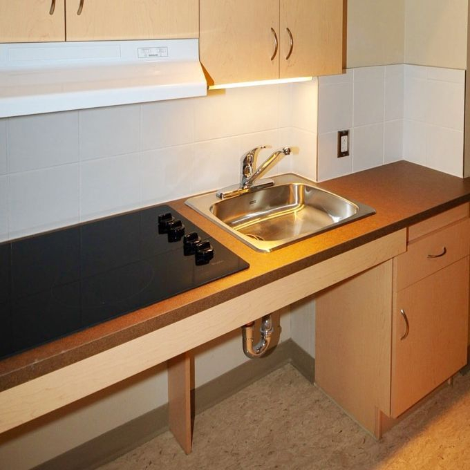 accessible barrier free kitchen design