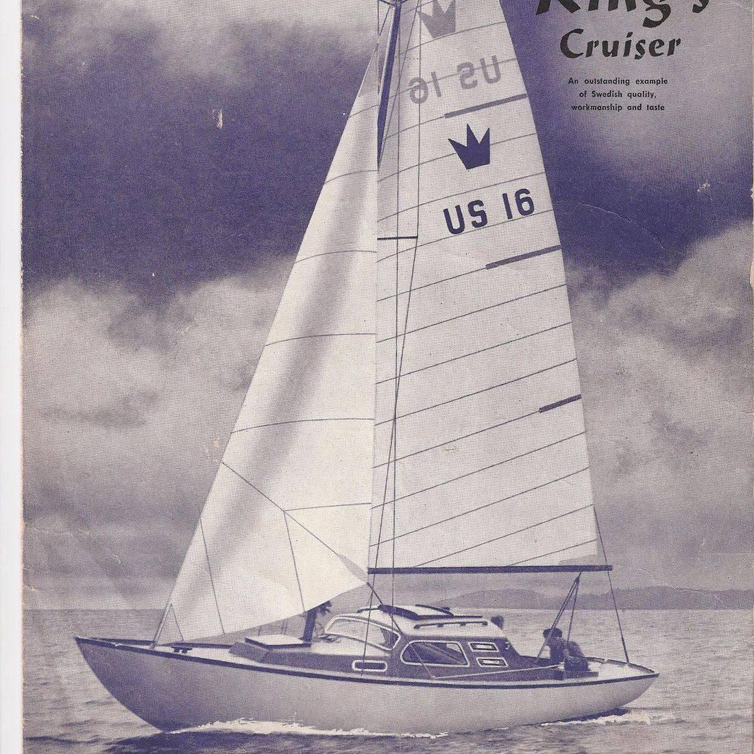 King's Cruiser Wooden Sailboat