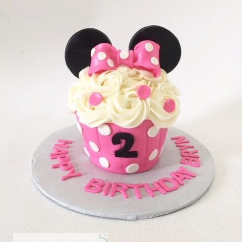 Minnie Mouse Smash Cake Cupcake Smash Cake