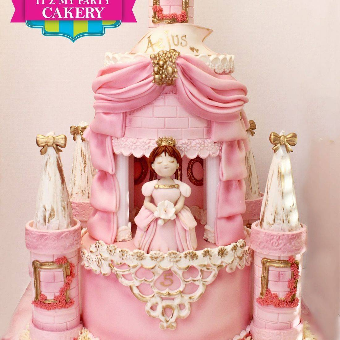 Princess Castle Cake Dimensional Cake Milwaukee