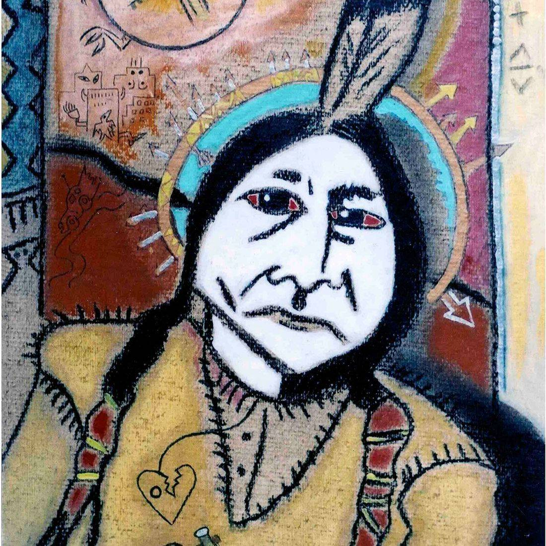Sitting Bull, Medicine Man, Vision, Custer's Last Stand, Sioux