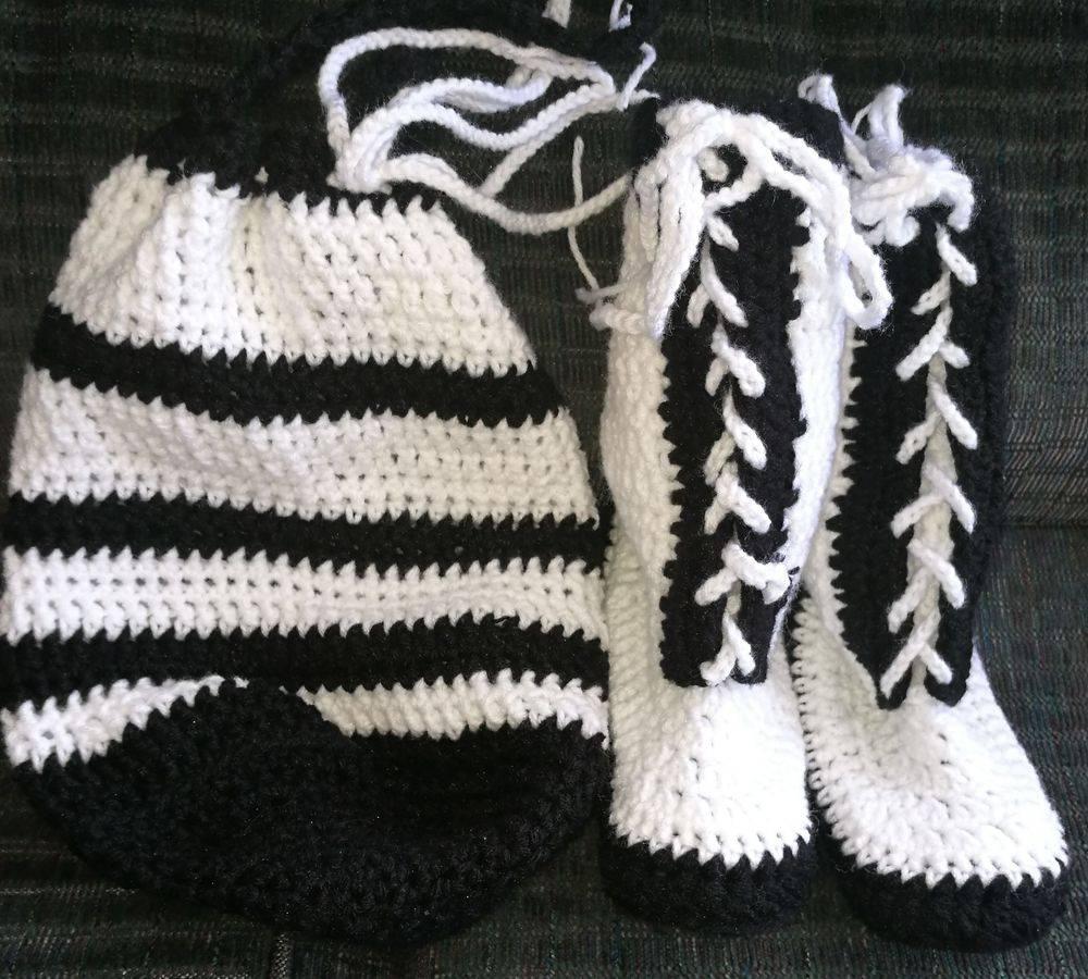 Boots in a Bag Adult Teens Children Handmade