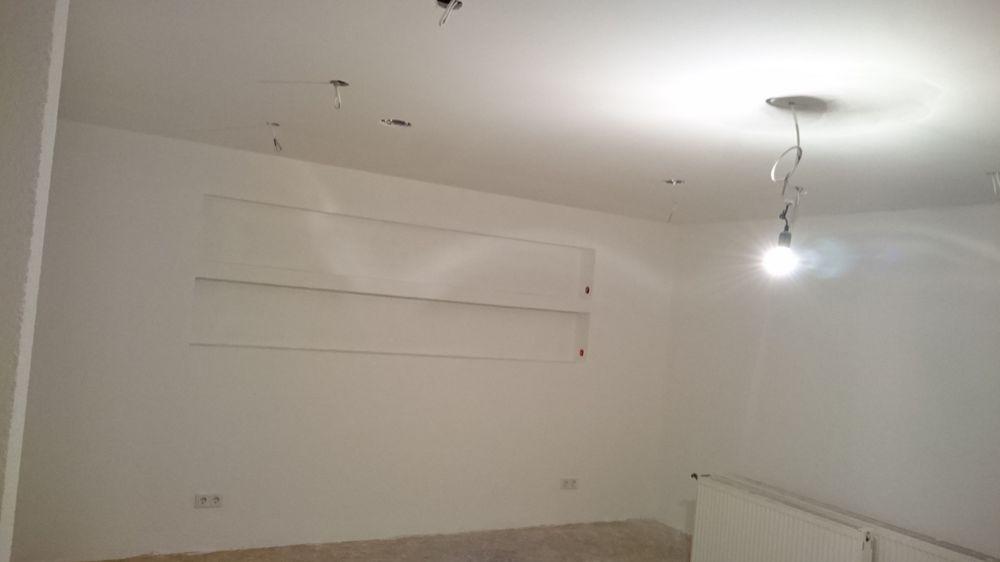 Fußboden geschliffen und veredelt, Renovierung komplett
