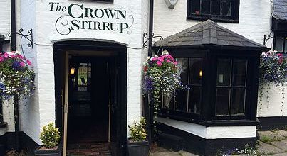 The Crown Stirrup Lyndhurst Pub New Forest