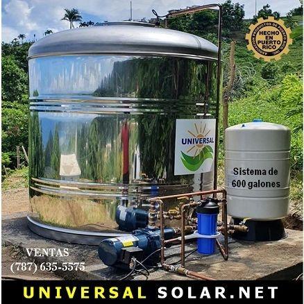 Tanque de agua instalado Puerto Rico