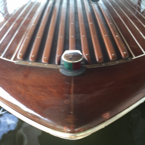 Streblow refinish by Bergersen Boat Co.