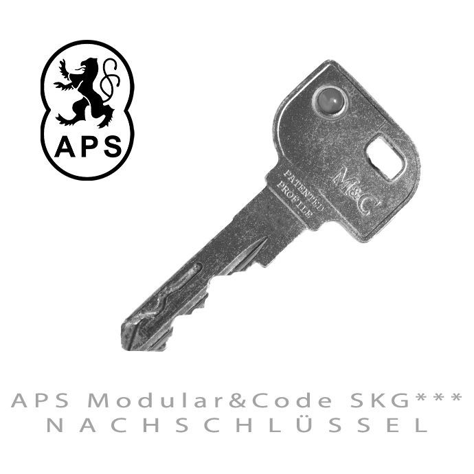 APS Modular & Code SKG*** Naschluessel