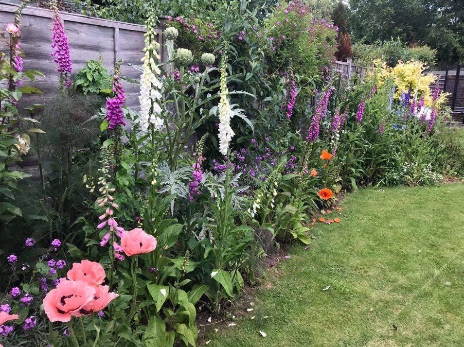 Berkshire garden planting Susan Bonnett Garden Advisor  flower garden