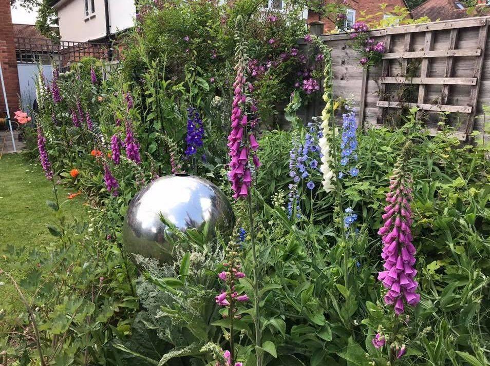 Berkshire garden design Susan Bonnett Garden Advisor flower gardens