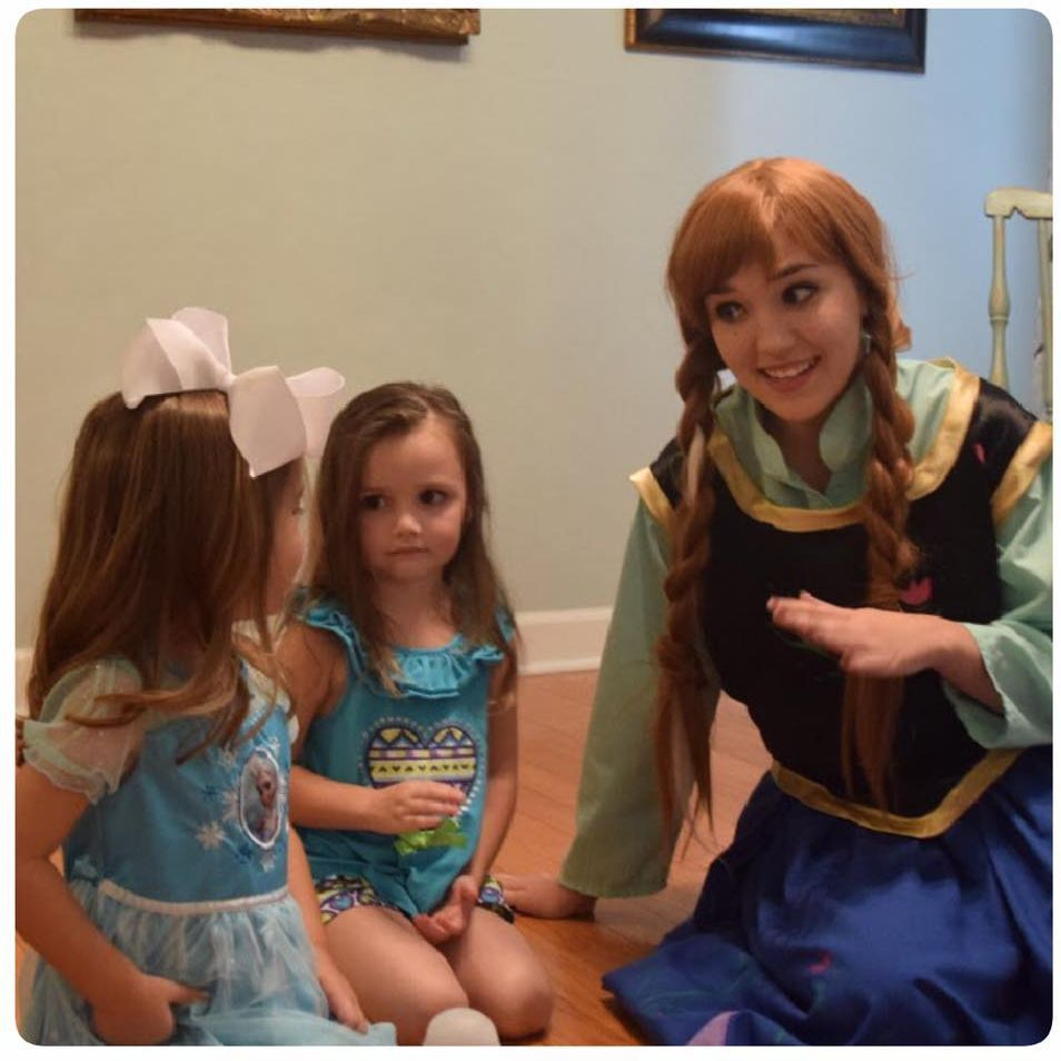 Princess Anna Frozen Party