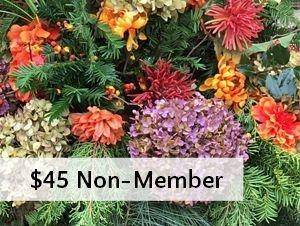 $25 non-member fee for workshops