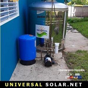 Calentador solar instalado Puerto Rico