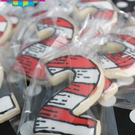 Dr Suess Number Cookies Milwaukee