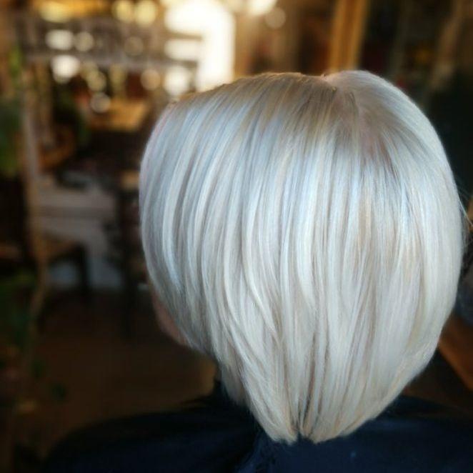 healthy blonde hair olaplex platinum grey hair