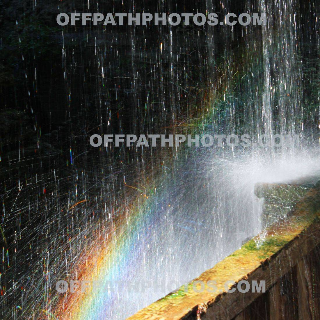 rainbow, water falls, upstate NY, photography, nature, roygbiv, relaxing, park