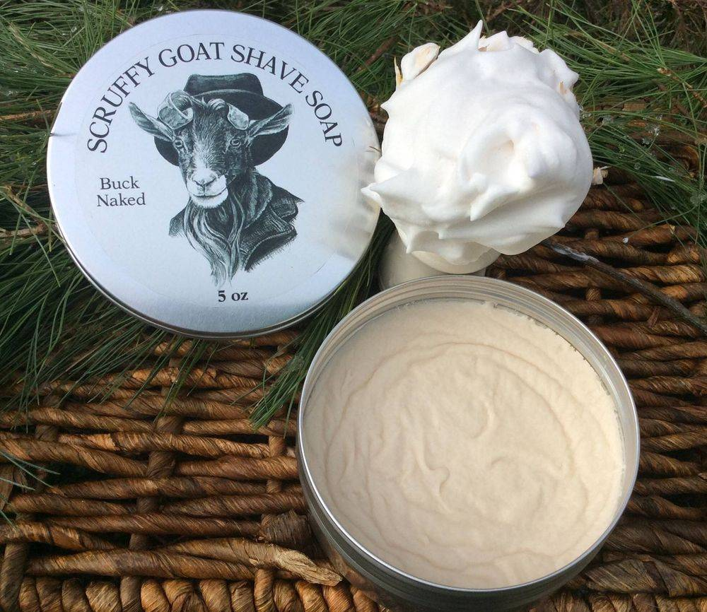 Goat's Milk shave soap