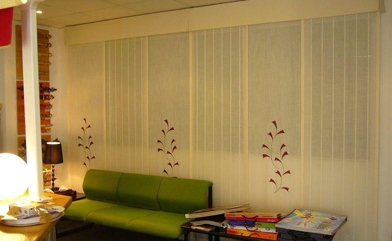 panel japonés bordado