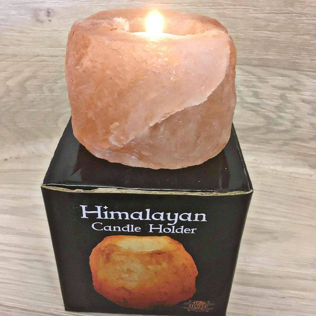 Himalayan Salt Tealight Holder Candle Burner Healthy