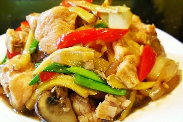 Chicken Ginger and Spring onion