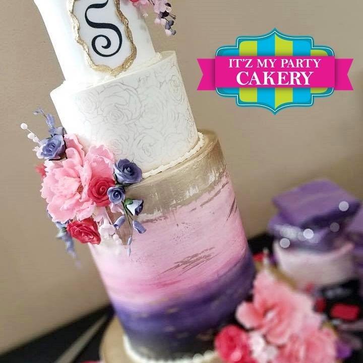 Savanna Toheeb Wedding Cake Milwaukee