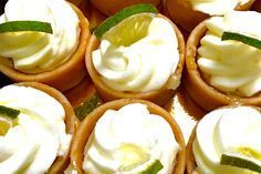 These are Arista's Key Lime Tartlets