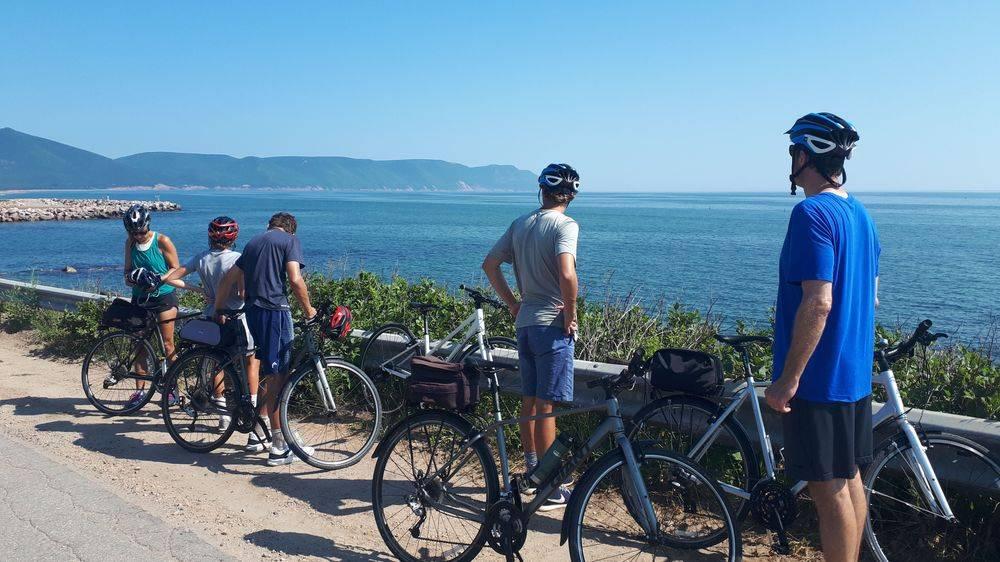 bike tours cabot trail, family bike tour cabot trail, biking cape breton