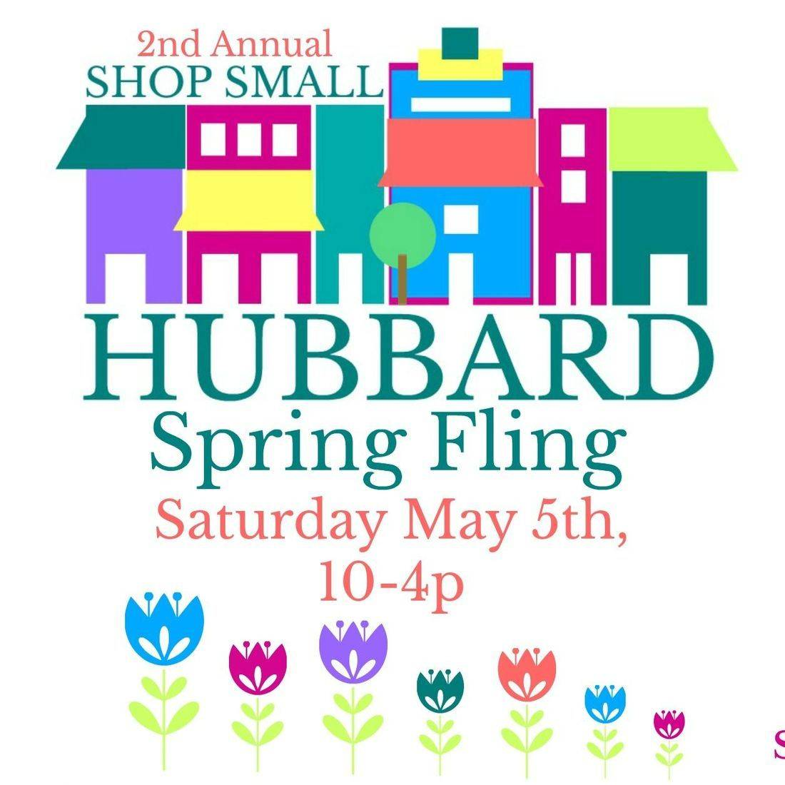 We are participating in Hubbard Shop Small Spring Fling