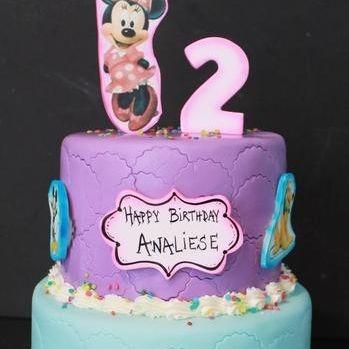 Custom Disney Chanel Cake Milwaukee