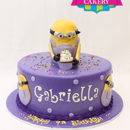 Custom Minion Cake Milwaukee