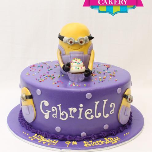 Custom Minion Cake Milwaukee