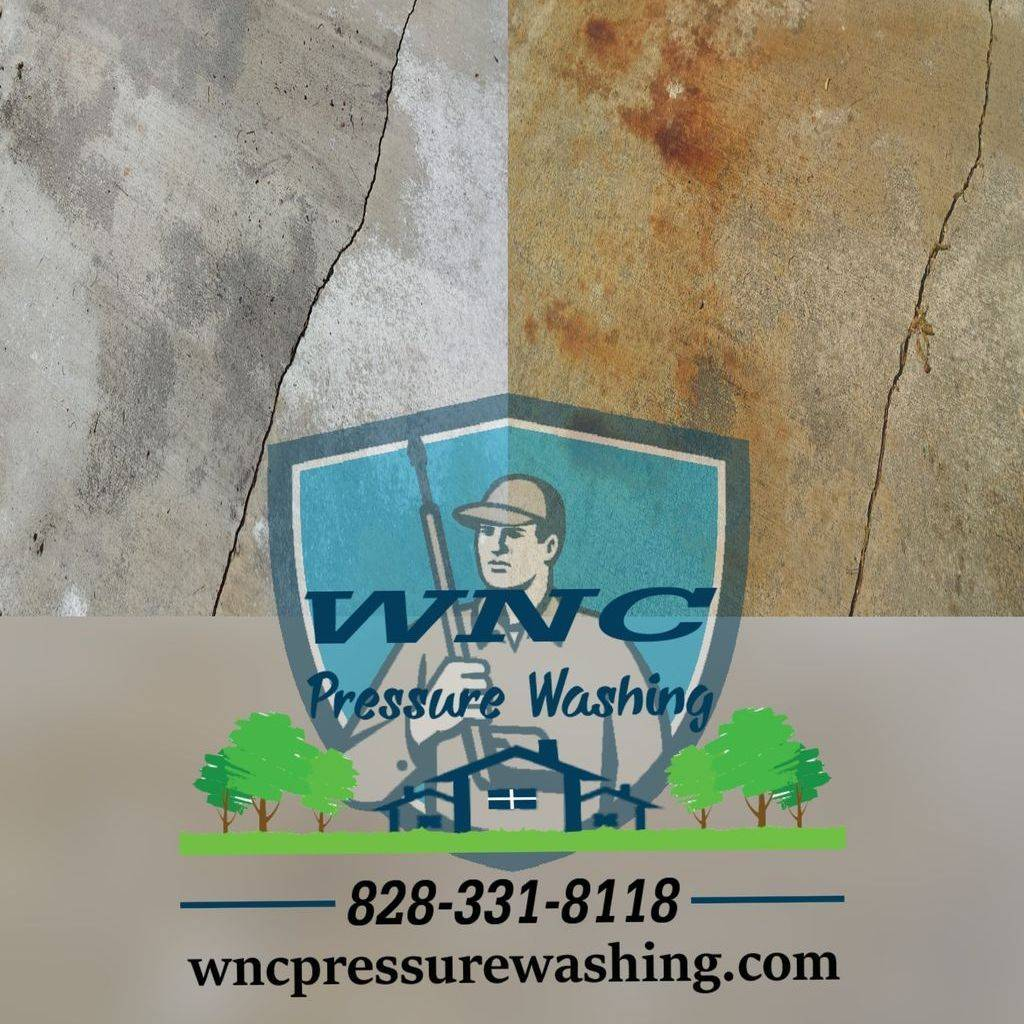 Rust Removal WNC Pressure Washing