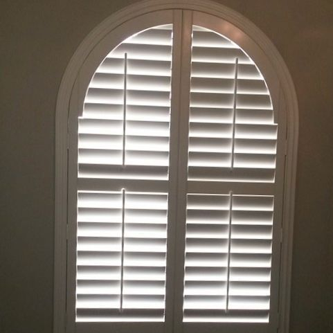faux wood shutter in edmond