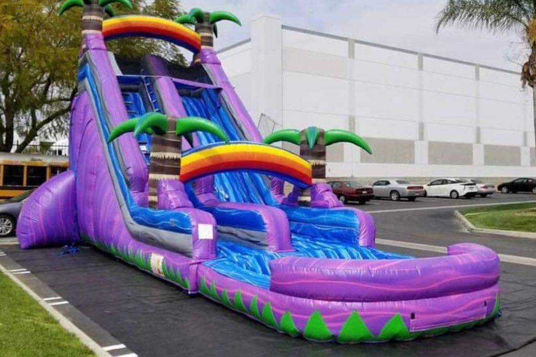 waterslide inflatable party rental