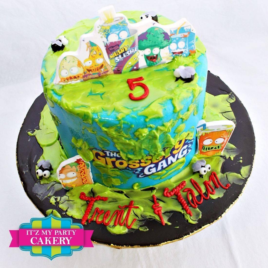 Grossery Gang Cake Milwaukee